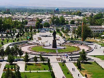 Rundreise Usbekistan Taschkent Platz