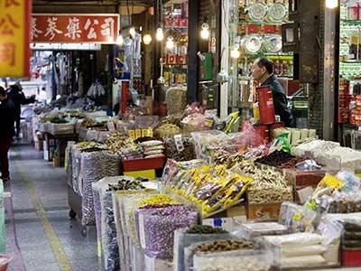 Taiwan Taipeh Nachtmarkt