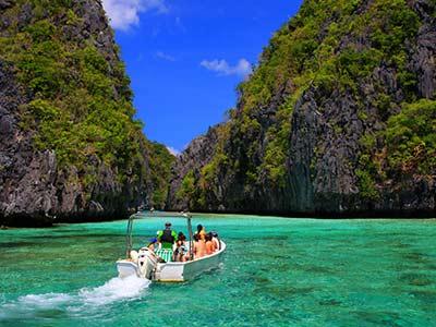 Philippinen Palawan Strand