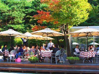 Suedkorea Seoul Cafe