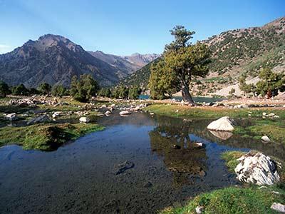 Tadschikistan Gebirge
