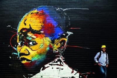 Streetart in Südafrika