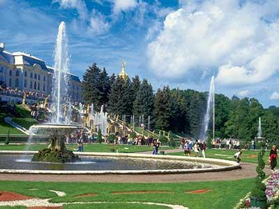 Städtereise St. Petersburg Petershof