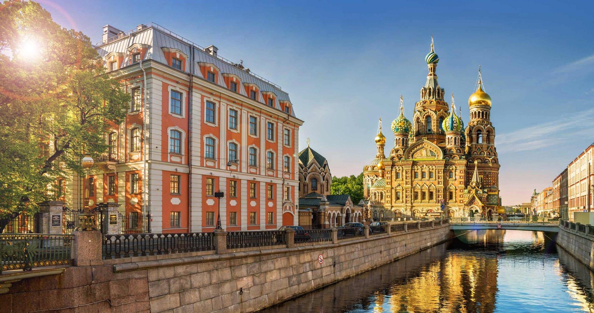 St. Petersburg - Zarenstadt und kulturelles Zentrum