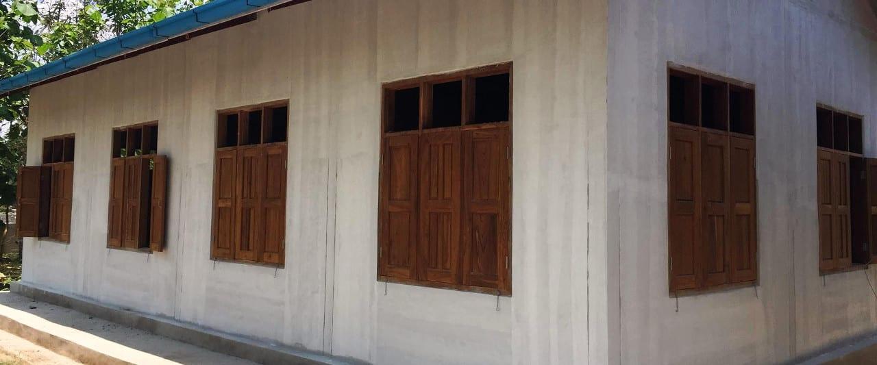 Die Amaka Basic Primary School in Myanmar am Inle See