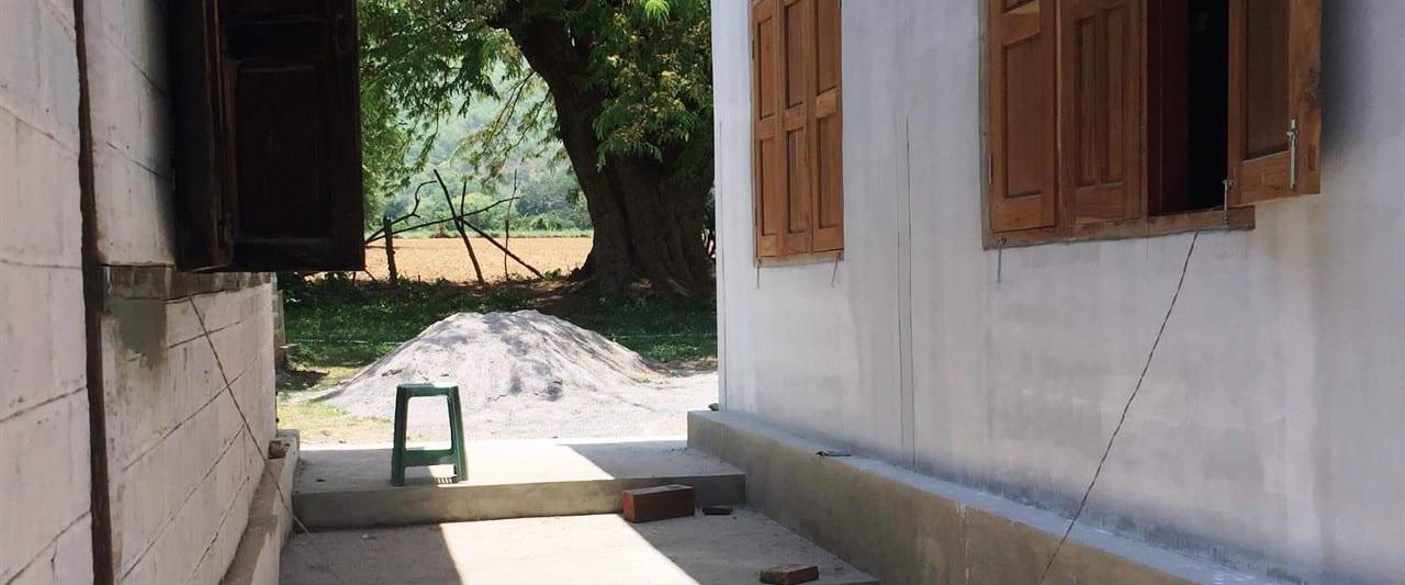 Außenansicht der Amaka Basic Primary School