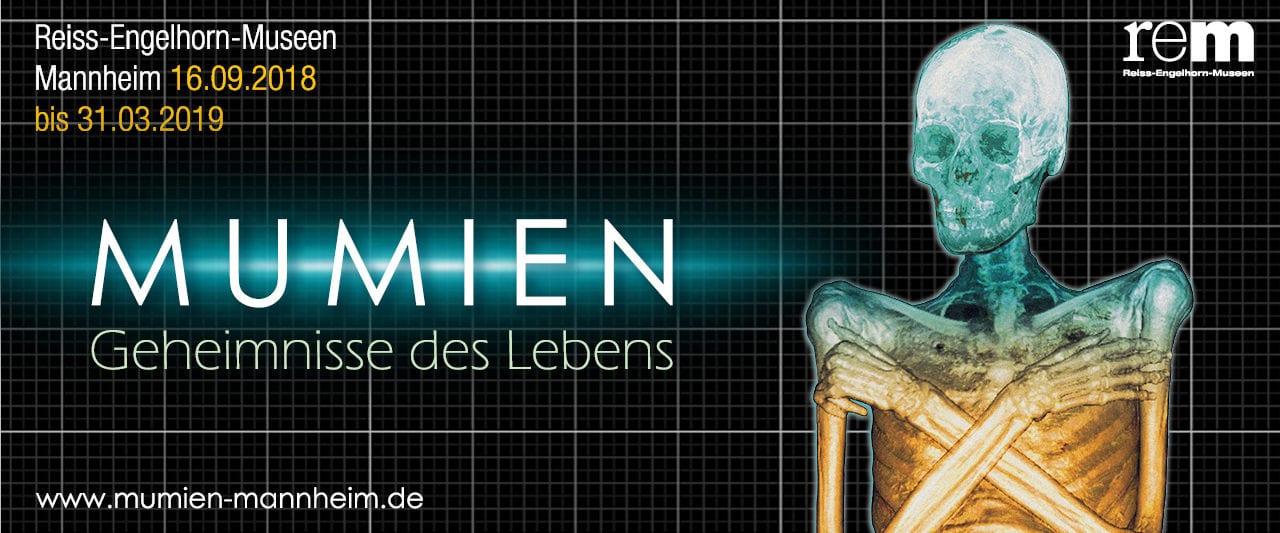 Mumien - Geheimnisse des Lebens Ausstellung