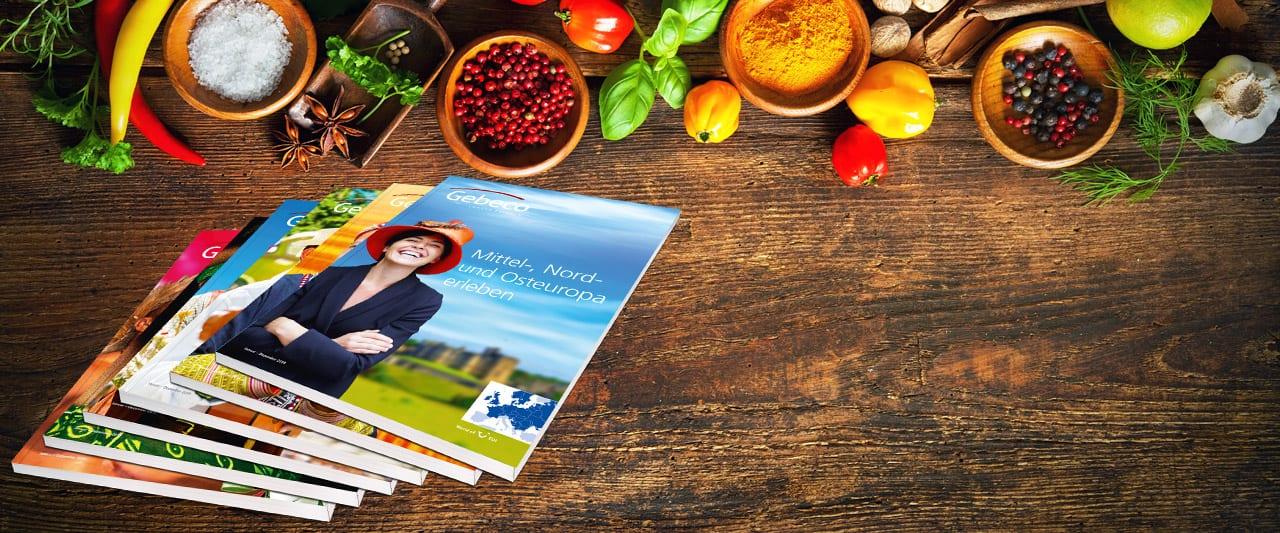 Gebeco - Neue Kataloge 2019