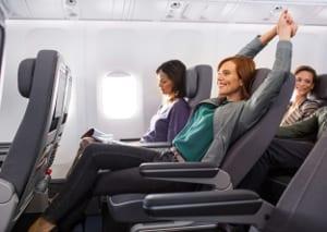 Lufthansa - Komfort in der Premium Economy Class