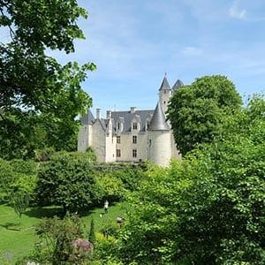 Schloss Rivau in Frankreich