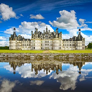 Schloss Chambord in Frankreich