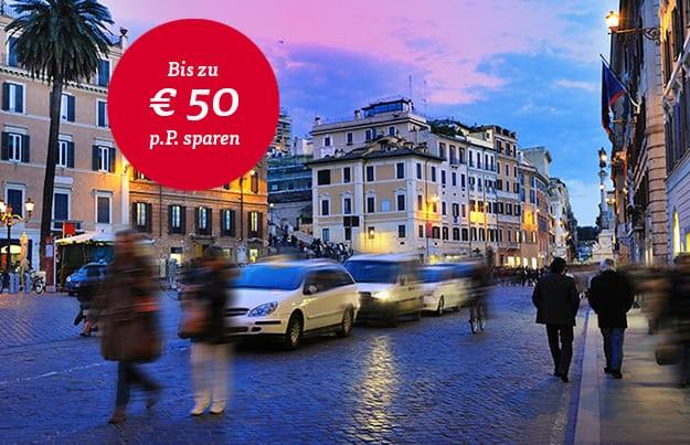Rom - Stadt mit Herz - Reduzierte Reisetermine