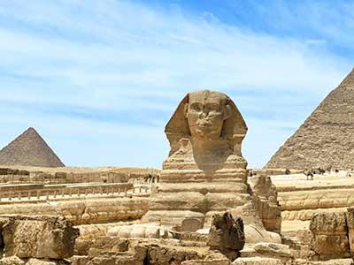 Rundreise Ägypten Sphinx Gizeh