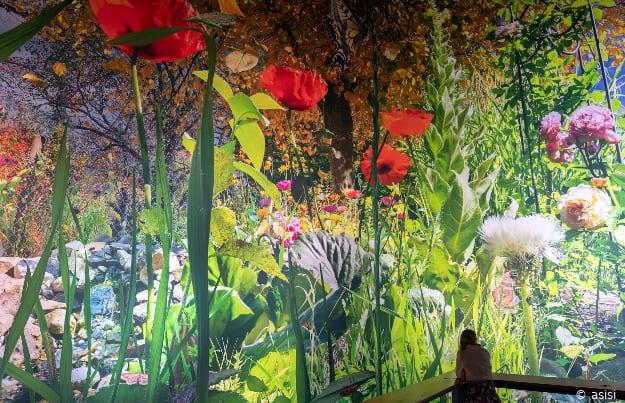 Ausstellung Carolas Garten im Panometer in Leipzig, Sachsen