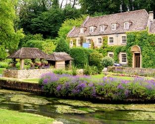 Landschaftsgarten in England
