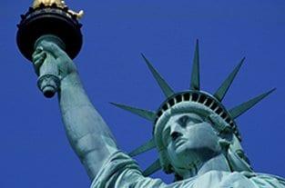 Freiheitsstatue in New York, Amerika