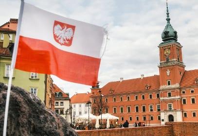 Königsschloss in Warschau, Polen