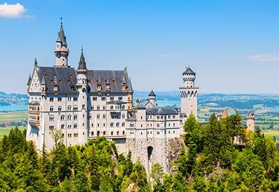 Schloss Neuschwanstein bei Füssen, Bayern