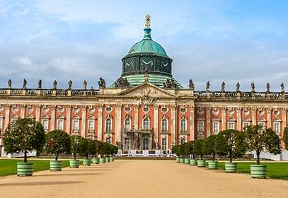 Schloss Sansoucci in Potsdam, Brandenburg