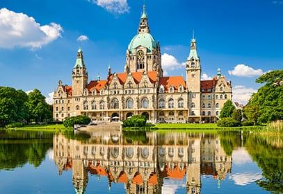 Neues Rathaus in Hannover, Niedersachsen