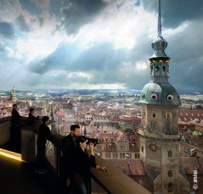"""Ausstellung """"Dresden im Barock"""" im Panometer in Dresden"""
