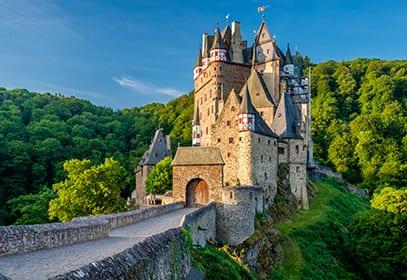 Burg Eltz in Wierschem, Rheinland-Pfalz