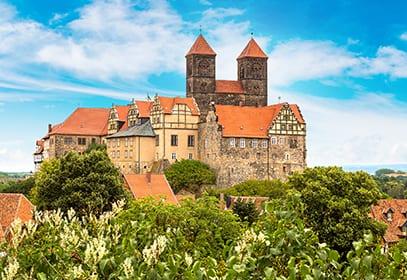 Schlossberg in Quedlinburg, Sachsen-Anhalt