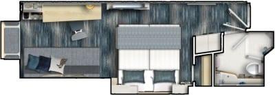 MS 1-2 Grundriss Außenkabine