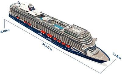 Mein Schiff 1 Grundriss