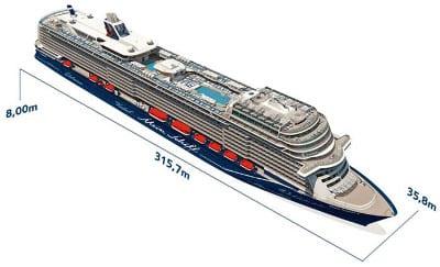 Mein Schiff 2 Grundriss