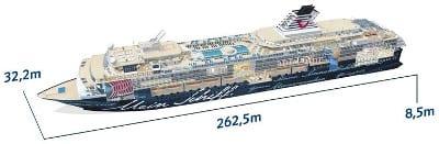 Mein Schiff HERZ Mein Schiff 2 Grundriss