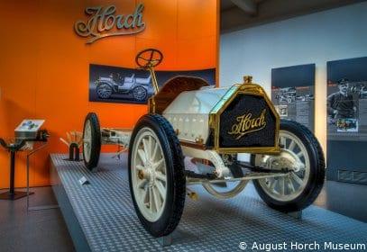 Oldtimer im August Horch Museum in Zwickau