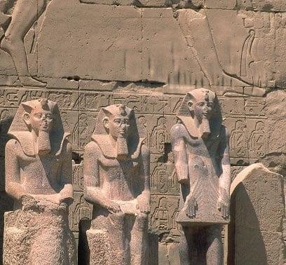 Karnak Tempel nahe Luxor, Ägypten