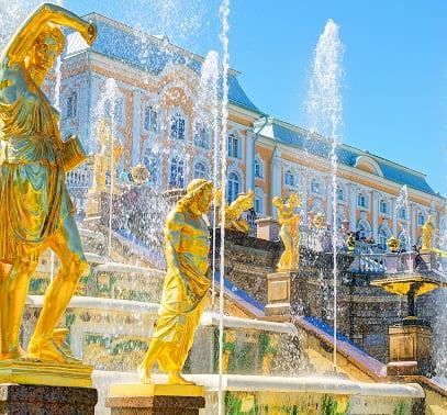 Schloss Peterhof nahe St. Petersburg
