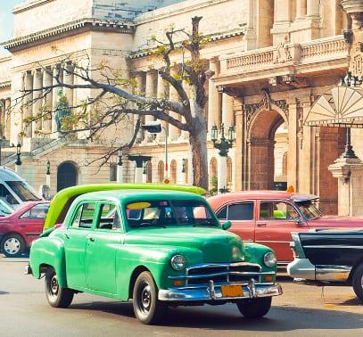 Oldimer in Havanna auf Kuba
