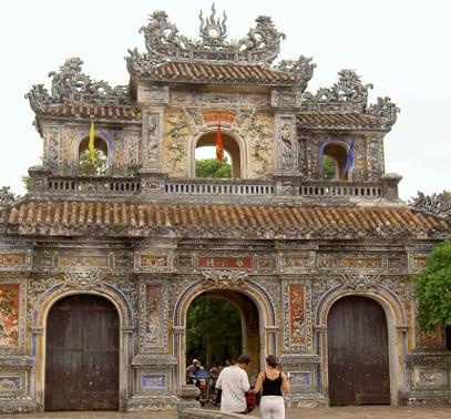 Osttor der Kaiserstadt von Hue, Vietnam