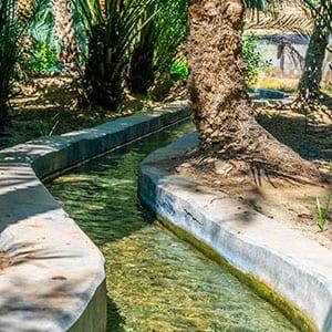 Rundreise Oman Al Aflaj Bewässerung