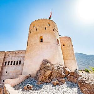 Rundreise Oman Festung Rustaq