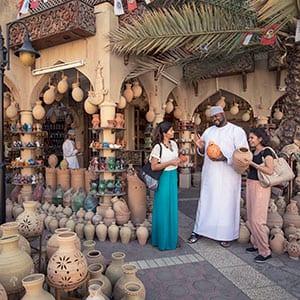 Rundreise Oman Souq Basar