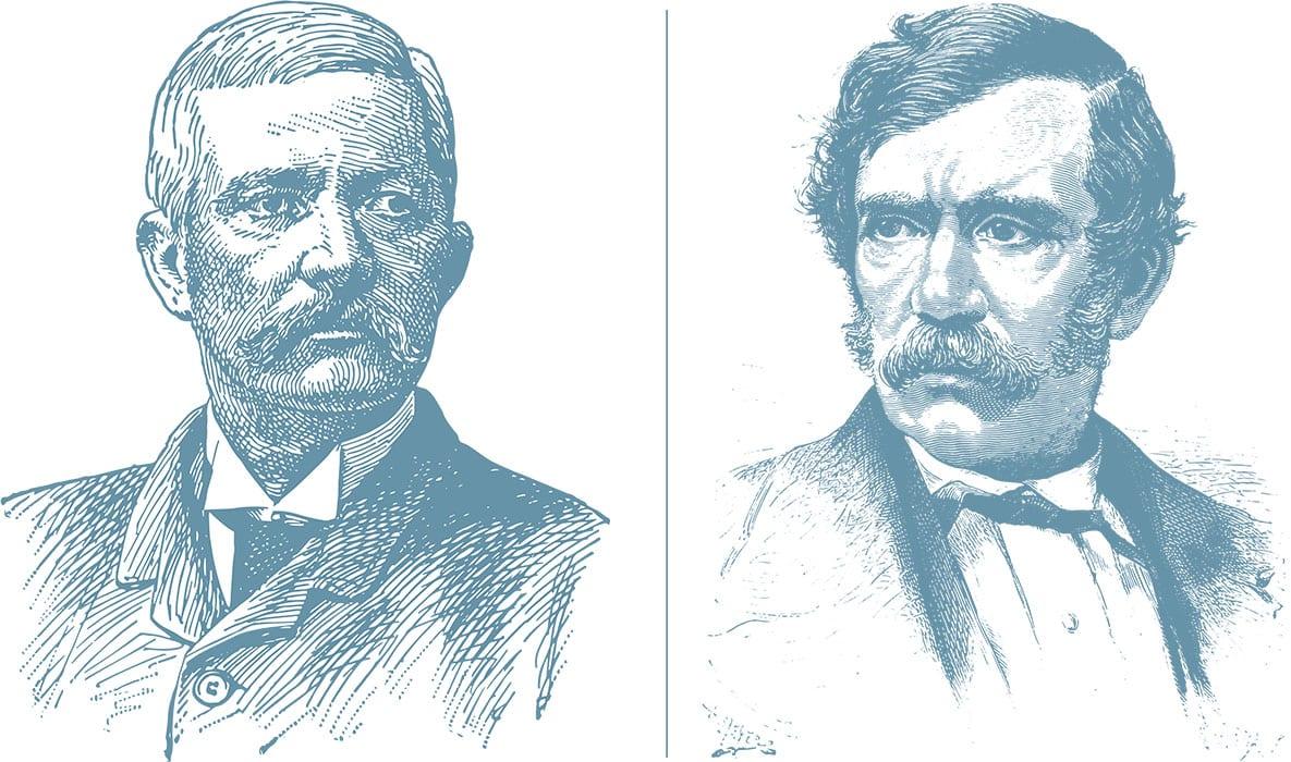Themenjahr 2020 Henry Morton Stanley und David Livingstone Nil