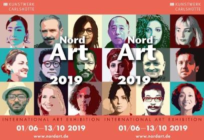 NnordArt2019 Internationale Kunstausstellung in Büdelsdorf, Schleswig-Holstein