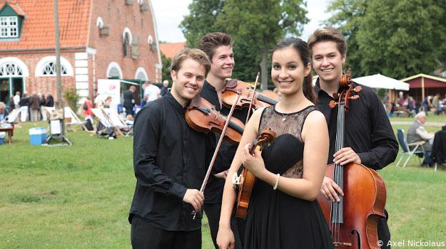 Schleswig-Holstein Musikfest auf dem Lande in Pronsdorf