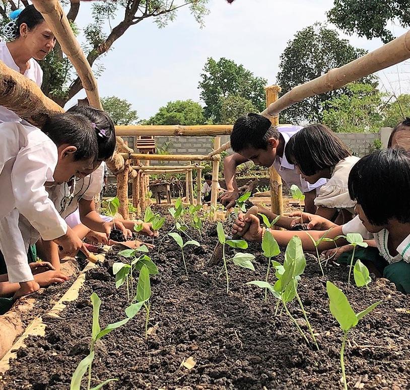 Nachhaltigkeit Kinderhilfsprojekt Myanmar
