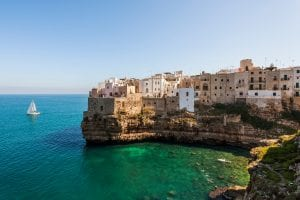 Italien - Küste in Apulien
