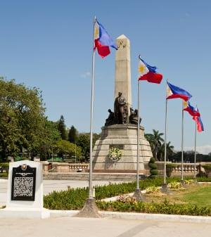 Manila Rizal Park - Philippen Erlebnisreise