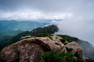 Südkorea Songnisan Nationalpark