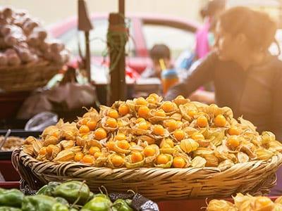 Früchte aus Peru