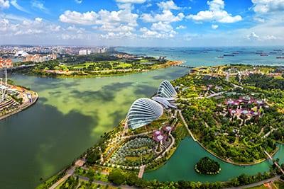 Singapur - Grüne Stadt