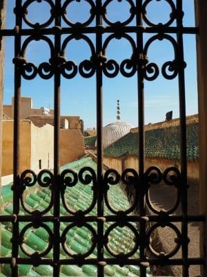 Marokko Gruppenreise mit Gebeco - Fès Ausblick Koranschule