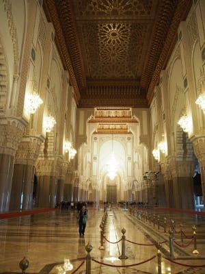 Marokko Casablanca Hassan II Moschee